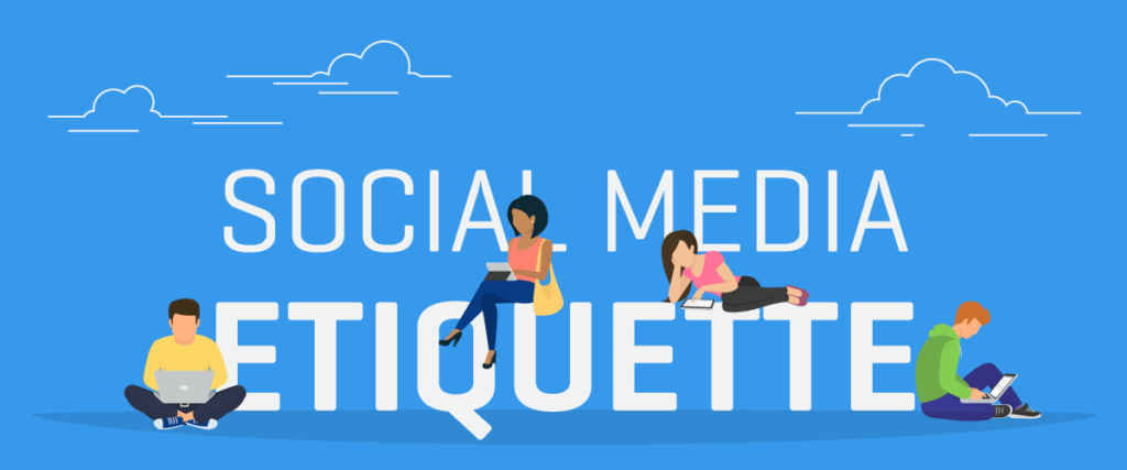 Social Media Etiquette 10 Rules to Follow banner