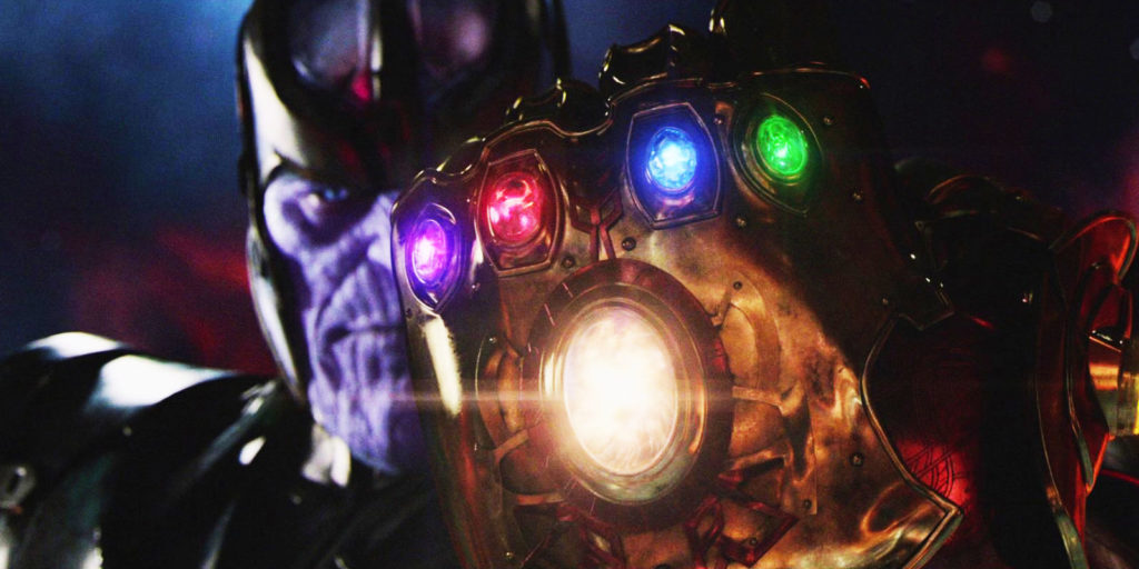 Thanos Infinity Stones in Avengers Movie
