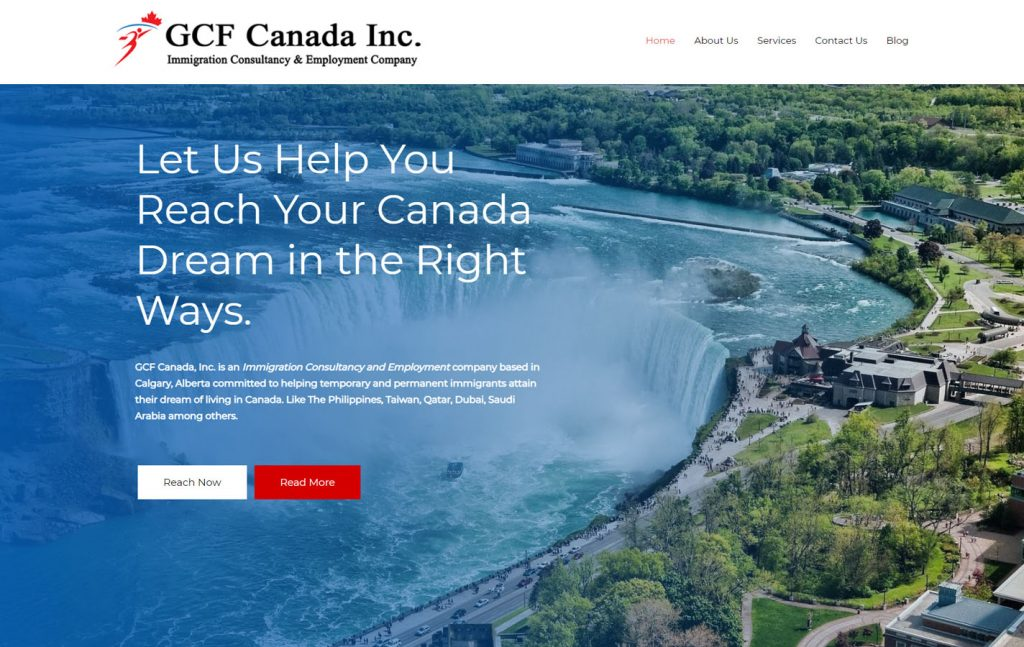 PNGS Client - GCF Canada Inc. Immigration Services